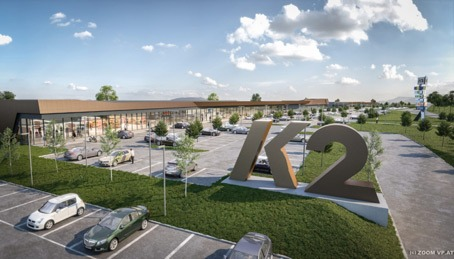 Neues Fachmarktzentrum K2 im Businesspark Kittsee – Eröffnung des ersten Bauteils