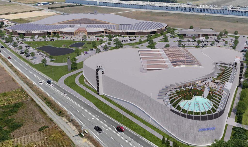 Beginn des Baus des neuen OUTDOOR CENTERS in Parndorf